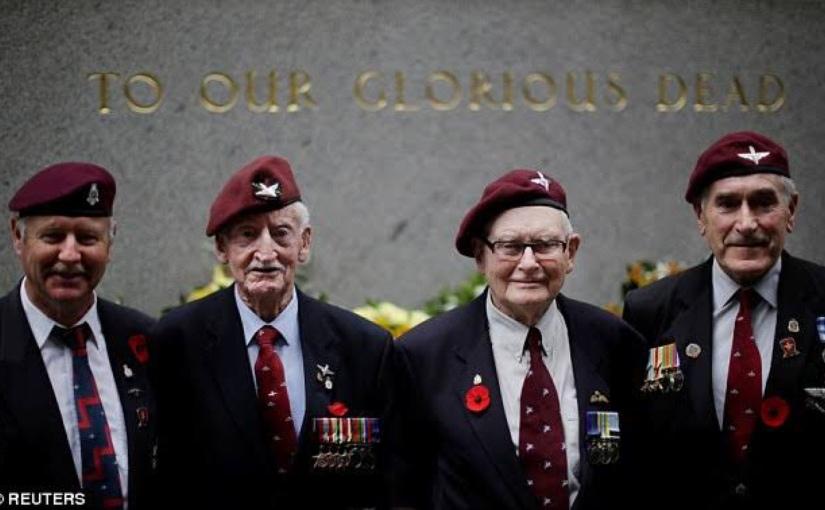 WWII Poppy. Remember