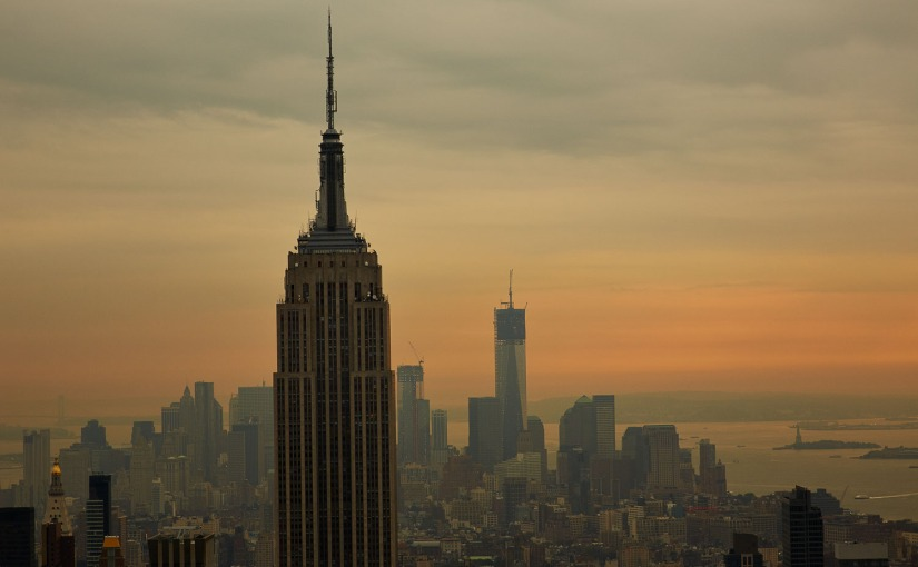Urban NYC – Empire Sunset
